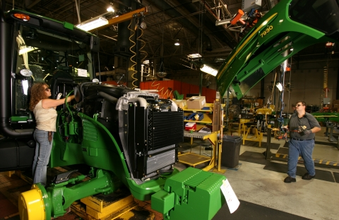 John Deere Tractor Assembly