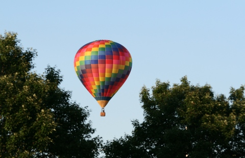 Linn County Conservation hot air balloons