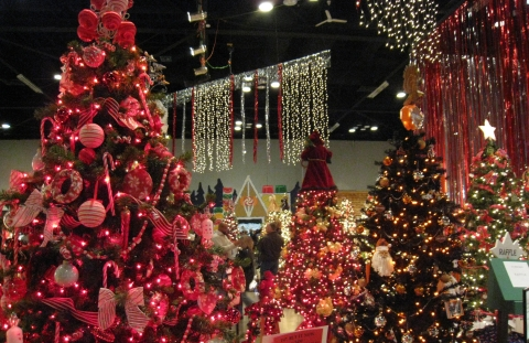 Quad City Arts' Festival of Trees in Davenport
