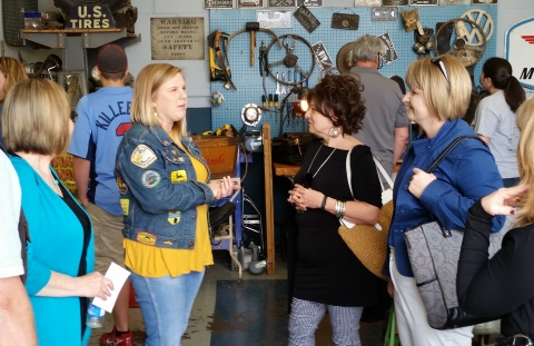 Tour at Antique Archaeology in LeClaire