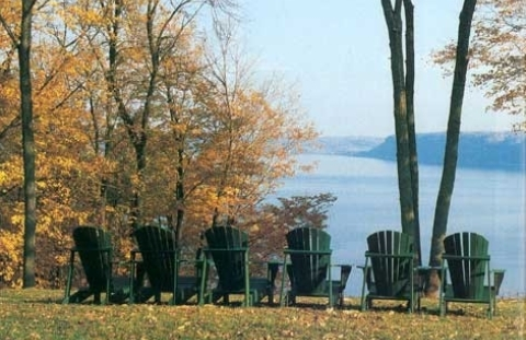 Four Mounds Adirondack chairs