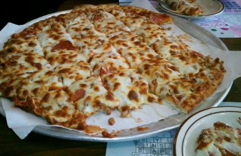 Mabes pizza Decorah